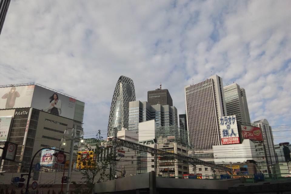 東京涼しい♪
