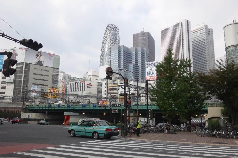 東京は活気にあふれて